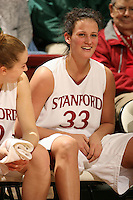 28 December 2006: Stanford Cardinal Jillian Harmon during Stanford's 86-58 win against the Arizona Wildcats at Maples Pavilion in Stanford, CA.
