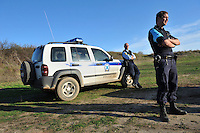 Dutch Frontex border police, belonging to the Rapid Border Intervention Team (RABIT), on patrol at the Greek-Turkish border. According to UNHCR, 38,992 immigrants arrived in Greece in the first 10 months of 2010, whereas in 2009 the number was only 7,574. According to Frontex, around 245 people tried to cross the border illegally every night during October.