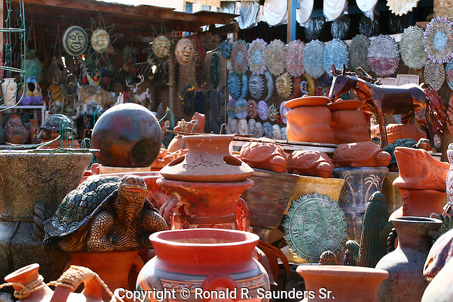 POTTERY STORE IN MEXICO