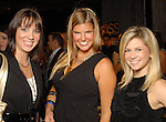 Stacee Russell, Cassie Shirra and Carrie Johnson at the the Simon Fashion Now extravaganza  at The Galleria Thursday Sept. 17,2009.(Dave Rossman/For the Chronicle)