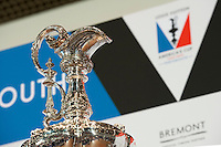 America's Cup trophy JULY 21, 2016 - Sailing: General vie of the trophy during the Louis Vuitton America's Cup World Series press conference, Portsmouth, United Kingdom. (Photo by Rob Munro/Stewart Communications)