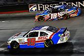 NASCAR XFINITY Series<br /> Food City 300<br /> Bristol Motor Speedway, Bristol, TN USA<br /> Friday 18 August 2017<br /> Matt Tifft, MSC Toyota Camry and Kyle Busch, NOS Rowdy Toyota Camry<br /> World Copyright: Rusty Jarrett<br /> LAT Images
