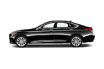 Car Driver side profile view of a 2015 Hyundai Genesis 3.8 4 Door Sedan Side View