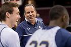 Mar. 27, 2015; Practice at Quicken Loans Arena before the 2015 NCAA Tourament regional final against Kentucky. (Photo by Matt Cashore/University of Notre Dame)