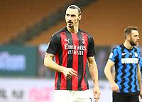 Milano  26-01-2021<br /> Stadio Giuseppe Meazza<br /> Coppa Italia Tim 2020/21<br /> Inter - Milan nella foto: Zlatan Ibraimovic                                                         <br /> Antonio Saia Kines Milano