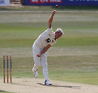 Harry Podmore bowls for Kent during Kent CCC vs Sussex CCC, Bob Willis Trophy Cricket at The Spitfire Ground on 8th August 2020