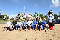 FIERLJEPPEN: IJLST: 07-08-2021, FK Jeugd, Huldiging, ©foto Martin de Jong