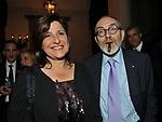 MARINA COVI CON IL MARITO PIER LUIGI CELLI