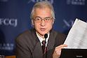 Joji Morishita Speaks to Press About Japan's Whaling Programme