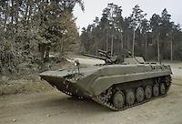 - NATO in Germany; U.S.Army, Foreign Materials Training Detachment (FMTD) at Grafenwoehr training area, Soviet BMP infantry fighting vehicle  (October 1985)<br /> <br /> - NATO in Germania; US Army, Distaccamento di Addestramento sugli Equipaggiamenti Esteri (FMTD) presso il poligono militare di Grafenwoer,  blindato da combattimento BMP sovietico (ottobre 1985)