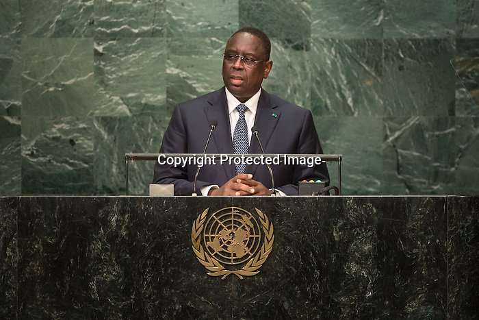 Senegal<br /> H.E. Mr. Macky Sall<br /> President<br /> <br /> General Assembly Seventy-first session: Opening of the General Debate 71 United Nations, New York