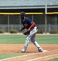 Junior Sanquintin - Cleveland Indians  2021 extended spring training (Bill Mitchell)