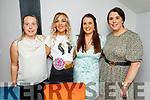 Ciara Boyle from Tralee celebrating her 30th birthday in Croi on Friday. L to r: Nora Begley, Ciara Boyle, Nessa Begley and Lisa Coffey.