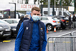 St Johnstone v Galatasaray…12.08.21  McDiarmid Park Europa League Qualifier<br />James Brown arrives ahead of tonight's game<br />Picture by Graeme Hart.<br />Copyright Perthshire Picture Agency<br />Tel: 01738 623350  Mobile: 07990 594431