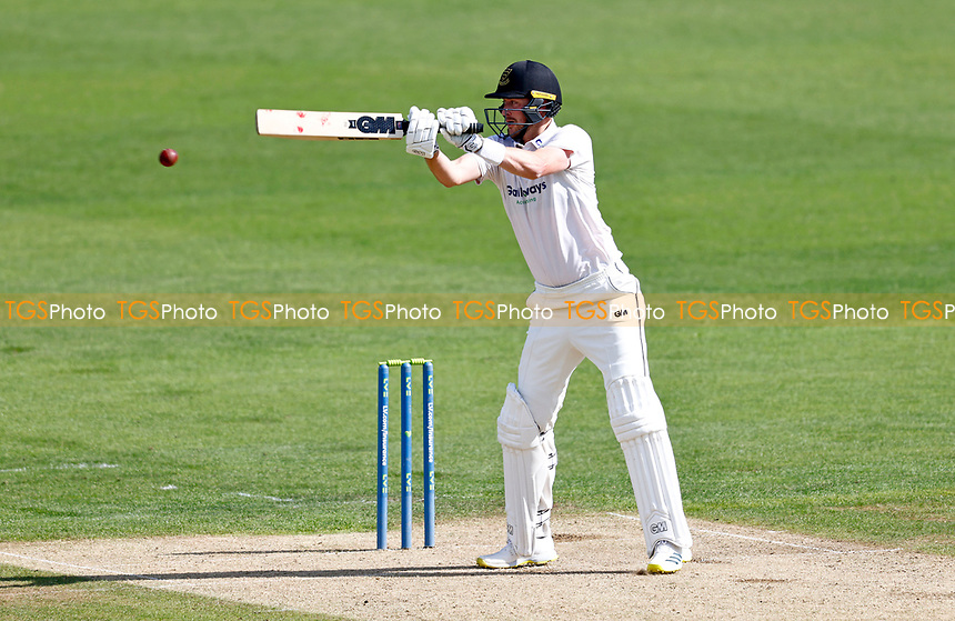 Ollie Robinson bats for Sussex during Kent CCC vs Sussex CCC, LV Insurance County Championship Group 3 Cricket at The Spitfire Ground on 11th July 2021