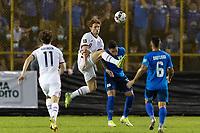 SAN SALVADOR, EL SALVADOR - SEPTEMBER 2: Josh Sargent #9 of the United States during a game between El Salvador and USMNT at Estadio Cuscatlán on September 2, 2021 in San Salvador, El Salvador.