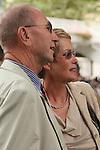 11/09/2011,  Owner of Reliable Man, Carina Lingberg (Pride Racing Club) and husband Sven Hanson