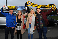 2019 02 16 Newport County prepares for FA Cup game against Manchester City, Newport, Wales, UK