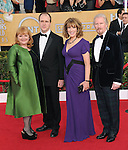 Phyllis Logan, Lesley Nicol, Kevin Doyle, David attends The 20th SAG Awards held at The Shrine Auditorium in Los Angeles, California on January 18,2014                                                                               © 2014 Hollywood Press Agency