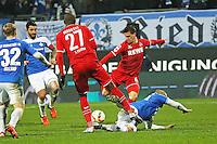 Chance fuer Simon Zoller (Koeln) - SV Darmstadt 98 vs. 1. FC Koeln, Stadion am Boellenfalltor