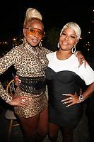 NEW YORK, NY - SEPTEMBER 11; Mary J. Blige and Misa Hylton at Misa Hylton's 48th Birthday Celebration at Soho House in New York City on September 11, 2021. <br /> CAP/MPI/WG<br /> ©WG/MPI/Capital Pictures