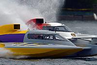 "Eric Langevin, GP-12 ""Long Shot"", Ken Brodie II, GP-50 ""Intensity""(Grand Prix Hydroplane(s)"