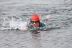 Fionnuala Ní Earcáin at the Green Buoy 1KM Swim in Clogherhead....(Photo credit should read Jenny Matthews/NEWSFILE)...