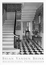 CENTRAL STAIRWAY<br /> Lady Pepperrell House<br /> Circa 1760<br /> Kittery, Maine © Brian Vanden Brink, 2004