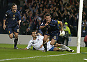 17/11/2007      Copyright Pic: James Stewart.File Name : sct_jspa08_scotland_v_italy.BARRY FERGUSON CELEBRATES AFTER HE SCORES SCOTLAND'S GOAL.James Stewart Photo Agency 19 Carronlea Drive, Falkirk. FK2 8DN      Vat Reg No. 607 6932 25.Office     : +44 (0)1324 570906     .Mobile   : +44 (0)7721 416997.Fax         : +44 (0)1324 570906.E-mail  :  jim@jspa.co.uk.If you require further information then contact Jim Stewart on any of the numbers above........
