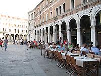 Italians enjoying an apertif before dinner - Venice.