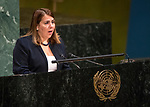 General Assembly Seventy-second session, 28th plenary meeting<br /> Report of the Secretary-General on the work of the Organization (A/72/1)<br /> <br /> CUBA