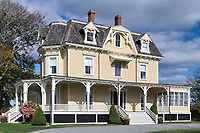 Eisenhower House, 1873, Newport, Rhode Island, USA.