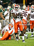 Illinois Fighting Illini wide receiver Jack Ramsey (19) celebrates after making a tackle during the 2010 Texas  Bowl football game between the Illinois  Fighting Illini and the Baylor Bears at the Reliant Stadium in Houston, Tx. Illinois defeats Baylor 38 to 14....