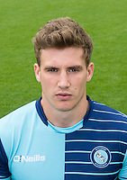 Dayle Southwell of Wycombe Wanderers during the Wycombe Wanderers 2016/17 Team & Individual Squad Photos at Adams Park, High Wycombe, England on 1 August 2016. Photo by Jeremy Nako.