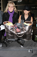 Sarah Hyland arrives at Los Angeles International Airport (LAX) with her boyfriend Matt Prokop. Hyland returned from Australia after filming 'Modern Family' with the entire cast for the last two weeks.<br /> <br /> Featuring: Sarah Hyland<br /> Where: Los Angeles, California, United States<br /> When: 28 Feb 2014<br /> Credit: WENN.com