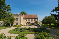 BNPS.co.uk (01202) 558833. <br /> Pic: BlenkinAndCo/BNPS<br /> <br /> <br /> A historic home with a 640-year-old tower is on the market for £1.25m.<br /> <br /> Bolton Old Hall is Grade II* listed and has a striking peel tower built in the 1380s as a defence against border raiders from Scotland.<br /> <br /> The house is also said to have a link to John and Kit Wright, Guy Fawkes' fellow conspirators in the Gunpowder Plot.<br /> <br /> The main part of Bolton Old Hall dates back to the reign of Queen Elizabeth I and has a number of character features including Tudor fireplaces, panelling and plasterwork.