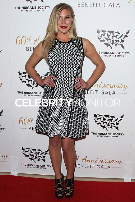 BEVERLY HILLS, CA, USA - MARCH 29: Katee Sackhoff at The Humane Society Of The United States 60th Anniversary Benefit Gala held at the Beverly Hilton Hotel on March 29, 2014 in Beverly Hills, California, United States. (Photo by Xavier Collin/Celebrity Monitor)
