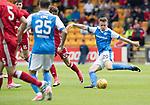 St Johnstone v Aberdeen…01.07.17  McDiarmid Park     Pre-Season Friendly <br />Kyle McClean making his debut for saints<br />Picture by Graeme Hart.<br />Copyright Perthshire Picture Agency<br />Tel: 01738 623350  Mobile: 07990 594431