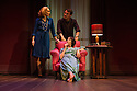 Kristin Scott Thomas, Rufus Sewell and Lia Williams star in, OLD TIMES, the first of Pinter's plays to be staged at the West End theatre that was renamed in the playwright's honour last year. Kristin and Lia alternate the roles of Anna and Kate. This picture shows Kristin Scott Thomas as Anna and Lia Williams as Kate. Rufus Sewell plays Deeley. Directed by Ian Rickson. Lighting design by Peter Mumford. Set and costume design by Hildegard Bechtler.
