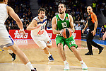 Real Madrid's player Sergio Llull and Unics Kazan's player Quino Colom during match of Turkish Airlines Euroleague at Barclaycard Center in Madrid. November 24, Spain. 2016. (ALTERPHOTOS/BorjaB.Hojas)
