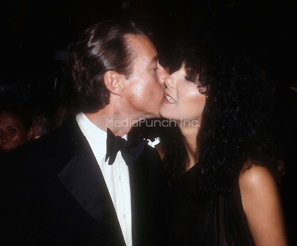 Cher and Halston 1978<br /> Photo By Adam Scull/PHOTOlink /MediaPunch
