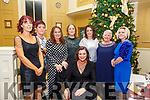 40th Birthday : Lisa Breen, Listowel, seated, celebrating her 40th birthday with family & friends at the Listowel Arms Hotel on Saturday night last. L-R : Pauline Lynch, Helen Dore, Theresa Dore, Shelia O'Connell, Joanne O'Flaherty, Kathleen Kelliher & Lesha Carey. Lisa Breen seated.