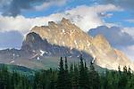 Thorne Mountain, Tonquin Valley, Jasper National Park, Alberta, Canada