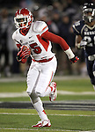 Fresno State's Davante Adams (15) runs to the end zone against Nevada during the first half of an NCAA college football game in Reno, Nev., on Saturday, Nov. 10, 2012. (AP Photo/Cathleen Allison)