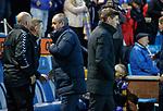 09.02.2019: Kilmarnock v Rangers : Steven Gerrard and Steve Clarke