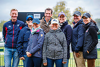 Team USA super connections during the second day of Dressage. 2019 GBR-Land Rover Burghley Horse Trials. Friday 6 September. Copyright Photo: Libby Law Photography