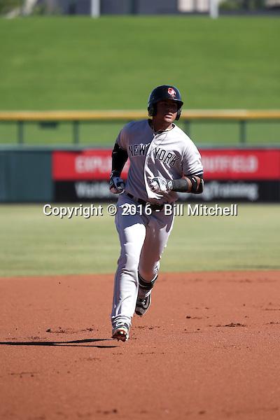 Gleyber Torres - Scottsdale Scorpions - 2016 Arizona Fall League (Bill Mitchell)
