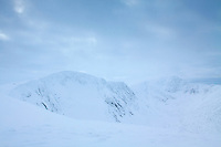 Stob Coire an t-Sneachda and Cairn Lochan from the Central Cairngorm Plateau, Cairngorm National Park, Badenoch & Speyside