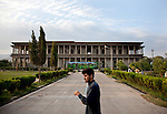 2 June 2013,  Jalalabad, Afghanistan.  The Seraj-ul Emorat Gardens are named for the palace of King Habibullah ('Building of Light'), built in the confines of the garden in 1910. The palace was reduced to a shell during the 1929 tribal uprising but the gardens remain.<br />   Picture by Graham Crouch/World Bank
