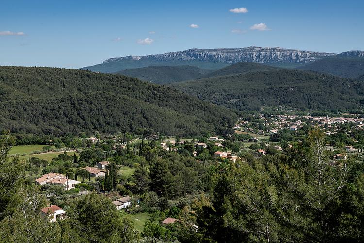 Saint-Zacharie et la Sainte-Baume